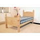 Corona pine bed high footend