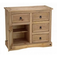 Corona buffet 4 drawers 1 door