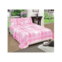 Double flanellette sheet set