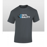 Vinyl Reality Men's T Shirt Grey