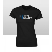 Vinyl Reality Women's T Shirt Black