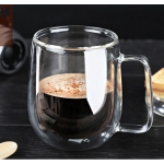 Glass Double Walled Mugs - Set 2
