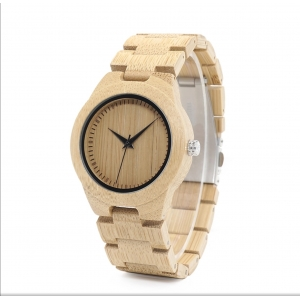 Natural Bambo Watch