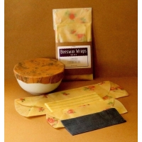 Beeswax Wraps - Set of 4