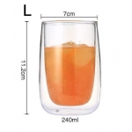 Double Walled Glasses Squared - Set 2