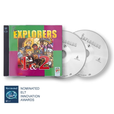 The Explorers 1&2 CD - Teacher's material