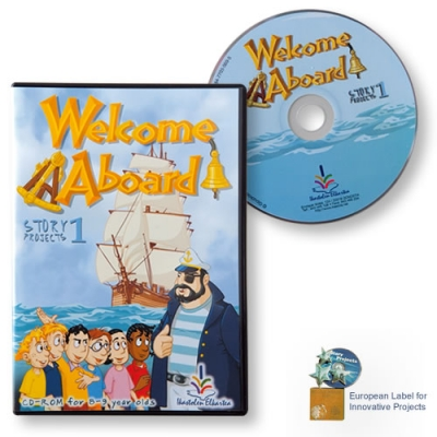 Welcome aboard CD-ROM