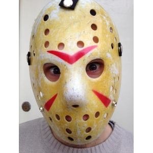 Deluxe Hockey Mask  - Jason Friday 13t..