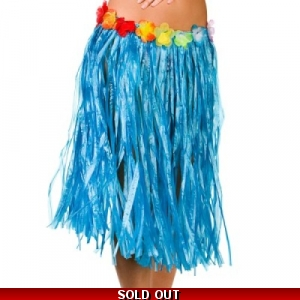 Grass Skirt - Blue
