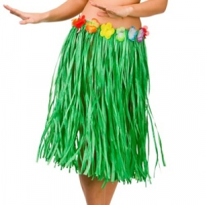 Grass Skirt - Green