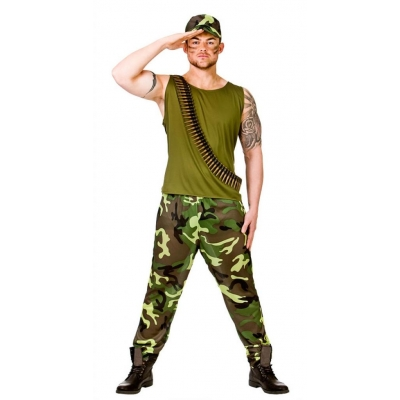 Army Guy Costume title=