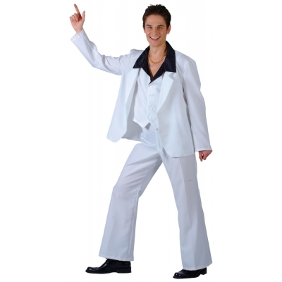 70's Disco Fever Costume - Saturday Night Fever Style title=