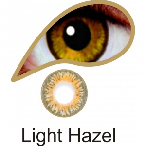 Light Hazel - 3 Month Lenses