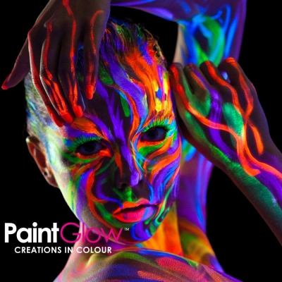 Glow in the Dark & UV Face & Body Paint title=