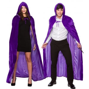 Hooded Cape - Velvet 55
