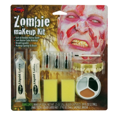 Makeup Kit - Zombie With Teeth title=