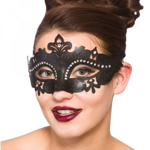 Demonte Eye Mask - Black