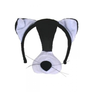 Cat Mask on Headband + ..
