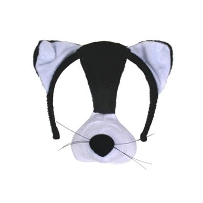 Cat Mask on Headband + Sound title=