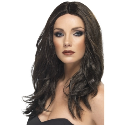 Superstar Wig - Dark Brown title=