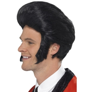 50's Quiff King Wig - Elvis Style