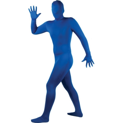 Skinz - Blue - Morphsuit Style title=