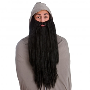Deluxe Long Beard - Black