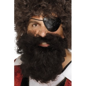 Pirate Beard - Dark Brown