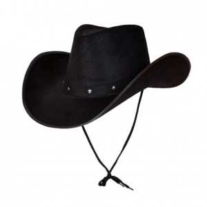 Texan Cowboy Hat - Black
