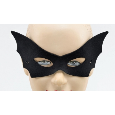 Vamp Domino Eye Mask - Black title=