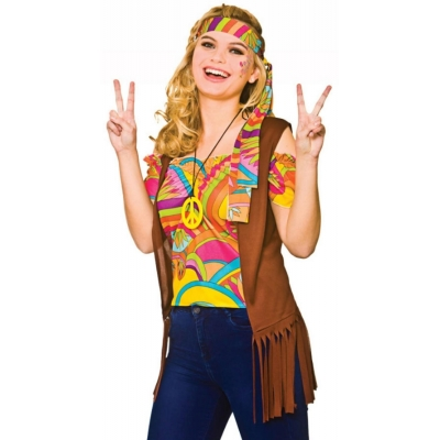 Cool Hippie Costume title=