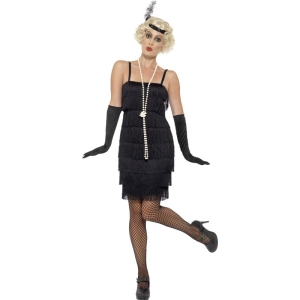 Short Flapper Costume -..