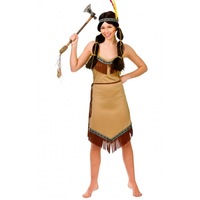 Native American Lady Costume title=