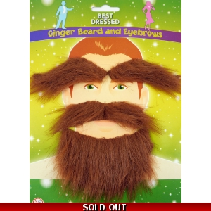 Beard & Eyebrows Set - Ginger