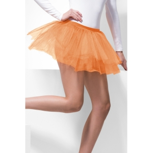 4 Layer Tutu - Neon Orange