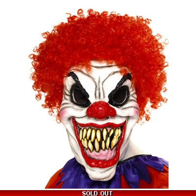 Scary Clown Mask title=