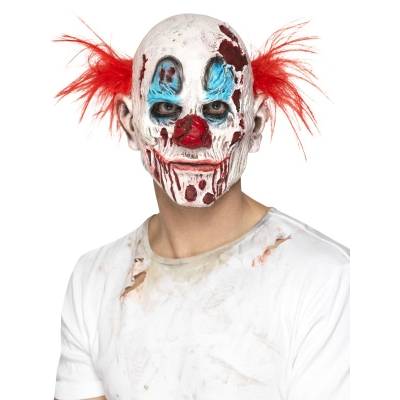Zombie Clown Mask title=