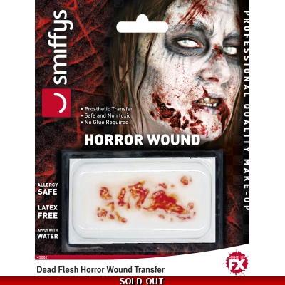 Horror Wound Transfer - Dead Flesh title=