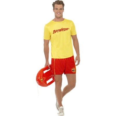 Baywatch Lifeguard Costume - Officially Licensed title=