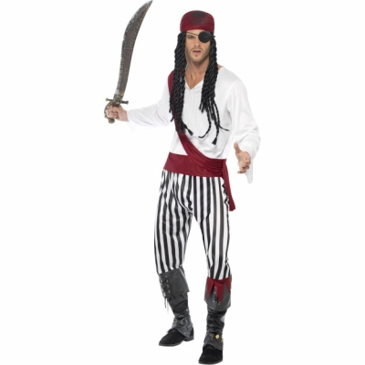 Pirate Man Costume title=