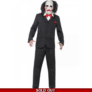 Saw Jigsaw Costume - Officially Licensed