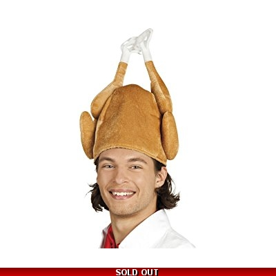 Cooked Turkey Hat title=