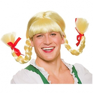 Funny Bavarian Beer Girl Wig
