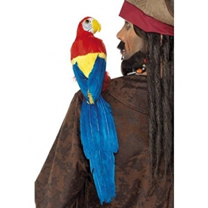 Shoulder Parrot - Feathered