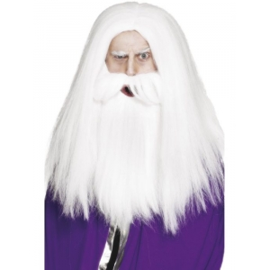 Magician Set - Wizard Wig and Beard