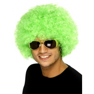 Crazy Clown Wig - Green