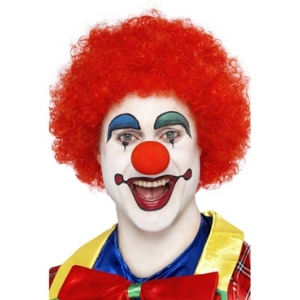 Crazy Clown Wig - Red