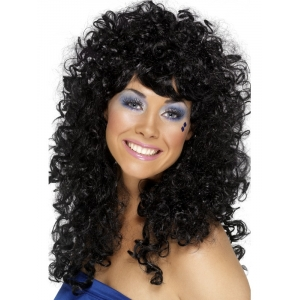 Boogie Babe Wig - Black
