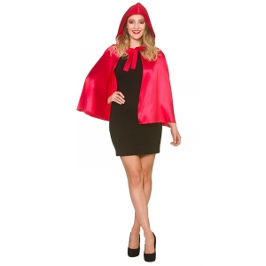 Hooded Cape - Short Red Riding Hood