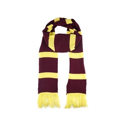 Wizard's Scarf - Harry Potter Style title=
